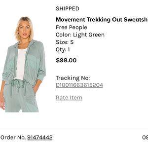 Free people track suit